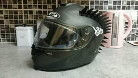Hjc matt black helmet