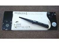 Remington pearl wand professional curling tong