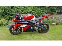 Yamaha YZF R125, 11 Months MOT, Free delivery & free warranty