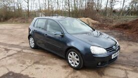 2006/06 Volkswagen Golf GT TDI 2.0 Turbo Diesel 5 Door Hatch 6 Speed 1 owner **Call 07956 158103**