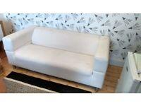 IKEA Klippan 2 seater sofa - no cover