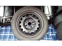 155/65/14 Wheel and Tyre 5mm+ for Peugeot 107, Citroen C1 or Toyota Aygo from a 2009 model - Cooper