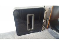 Sonos Subwoofer gloss black. play sub