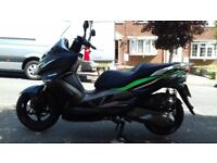 Stunning practically like new and low mileage Kawasaki J 300 cc special edition.