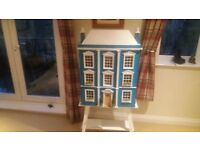 Lovely Dolls House, complete with unused lights
