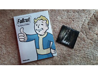 Fallout Franchise Book and Fallout 4 Soundtrack CD