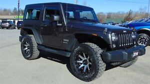 2014 Jeep Wrangler SPORT - CUSTOM - ONLY 21,000 KMS!!!!