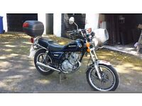 Suzuki GN 125 for sale - Low Milage & 11 months MOT