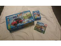 Playmobil horse trailer and related sets