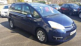 2008 / 08 Plate Citroen C4 GRAND PICASSO 2.0 HDi 7 EXCLUSIVE 5dr 7 SEATER