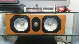 Monitor Audio Silver LCR Bi-Wire Home Theatre Cinema Centre Channel Loud Speaker