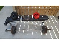 80kg cast weights, bench,Boxing headguard protectors