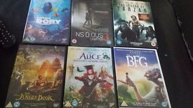 6 dvds for sale £10 each or all for £30.. all excellent condition