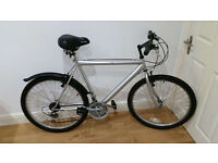 Ready to go serviced Venture 18 speed adult bike - bicycle