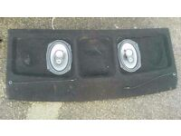 2003 Citroen Saxo VTR/VTS surround sound parcel shelf