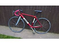 very rare giant fixie single speed road bike racing cycle medium 20 inch extreme light alloy
