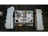 Stoves SGH600C 4 Burners Gas Hob Stainless Steel