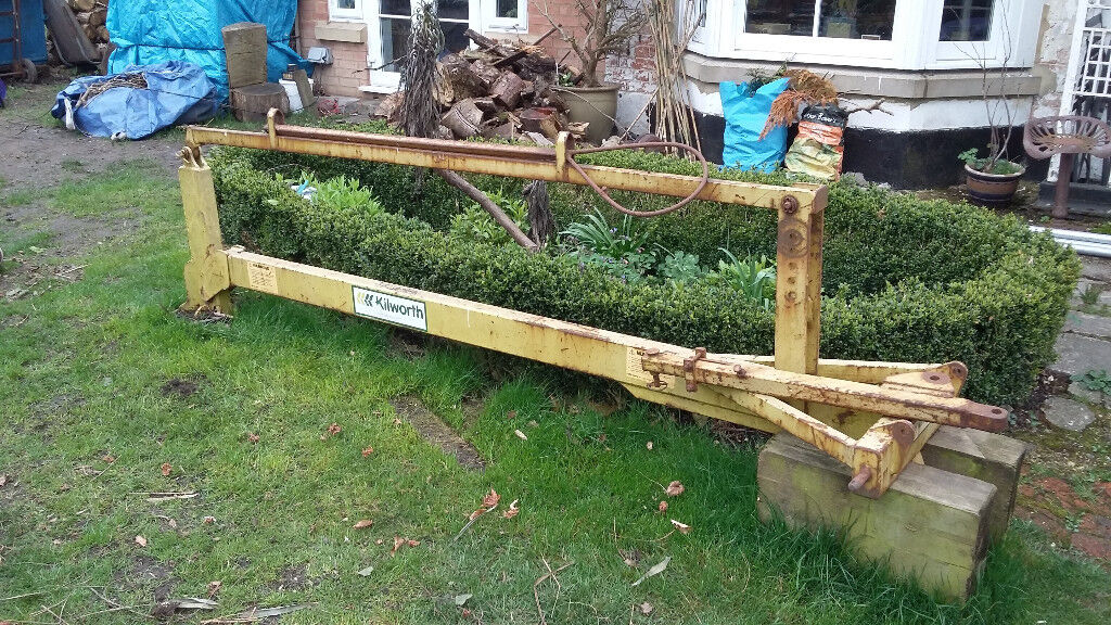 Kilworth 3-pt Linkage Fence Post Driver / Whacker / Knocker