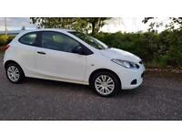 MAZDA 2 1.3 TS 3dr Warranted + 1Yrs Mot & Serviced A Nice Looking Car (white) 2010