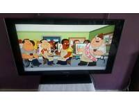 """SAMSUNG LE40A556P1F 40"""" WIDESCREEN LCD TV, HDMI, FREEVIEW BUILT IN COME WITH REMOTE FULLY WORKING"""