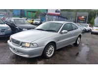2000 (W Reg) Volvo C70 2.4T 2DR COUPE FOR £595 SOLD WITH 12 MONTHS MOT