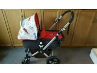 Bugaboo cameleon 2 with custom camper hood