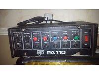 NTJ PA 110 AMP