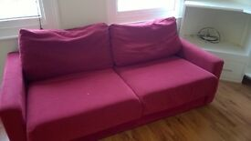 Sofa bed (£50) & Sofa (40) or £75 for the pair