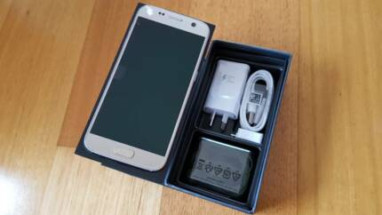 BRAND NEW Galaxy S7 - 32GB - Silver (Warranty)