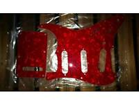 Red Pearl Scratch Plate *NEW*