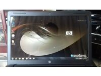 HP G61 laptop, Fast Intel Dual core, 4GB Ram, 250GB HD