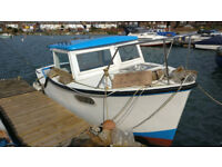 Colvic 22 Foot fishing boat to sell