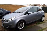 vauxhall corsa sxi 2009 1.2 HPI clean good condition