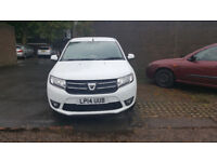 For Sale Dacia Sander 0.9 TCe, 5999 ono, One owner, White, Manual, FSH ,cheap tax