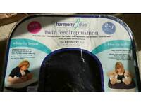 Harmony duo twin bottle and breast feeding pillow