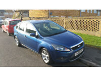 Blue Ford Focus Mk 2 (2009) great condition