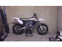 Yzf 450 2012 Mx bike