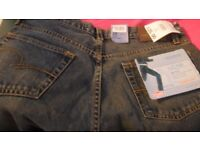 """NEW WITH TAGS - Lee Cooper LC16 Mens Flare/Flared Leg Jeans - 29"""" Waist 32"""" Leg - BARGAIN £5"""