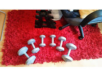 Lifting Body Building Exercise Gym Weighst Set £15 Quid Only !