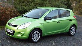 2009 Hyundai i20 classic 1.2, 5 door, 1 owner 73,00 miles, fsh