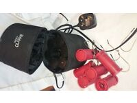 Nicky Clarke 12 piece electric hair curlers.