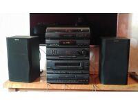 Sony Vinyl/CD/tape/radio system