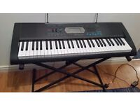 Casio Electric Keyboard and Stand