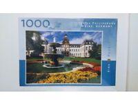 1000 PIECE JIGSAW PUZZLE CASTLE PHILIPSBUGH MAINE GERMANY ( NEW & SEALED )