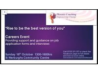 Careers Event - Providing support and guidance on job application forms and interviews