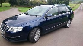 VW Passat 2.0 TDI 170 Highline. Estate. Auto. DPF. 09 FSH, Excellent Condition.