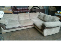 Pending Collection Large Corner Sofa Bed