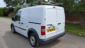 Ford Transit Connect 1.8 TDCi T200 SWB Lead-In Panel Van £1,990 +VAT NEW MOT. GREAT CONDITION 2008,