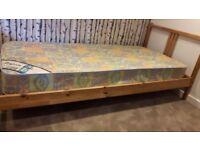 Single Ikea bed & mattress