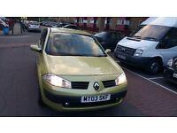 Renault megane 1.6 automatic. Low mileage